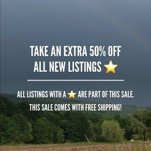 50% OFF new inventory......